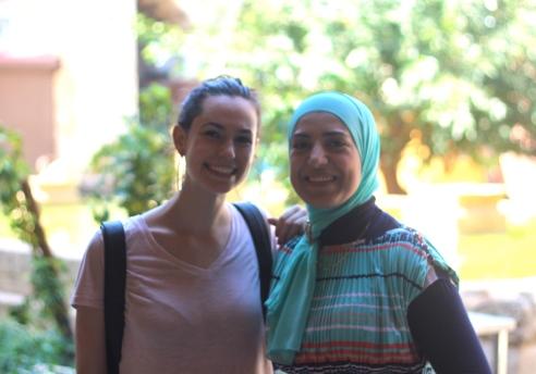 me and Ustaadha Hiba