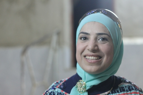 Hiba looking beautiful in the Tripoli hammam