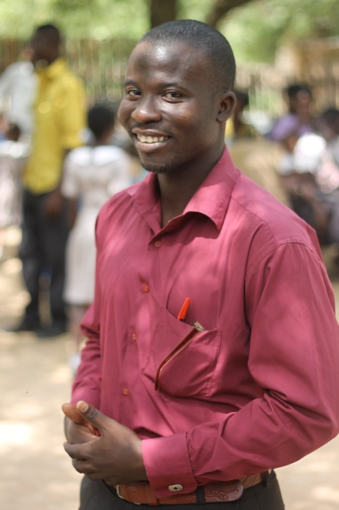 Appiah, National Service Volunteer, Math Teacher and Manye's resident DJ