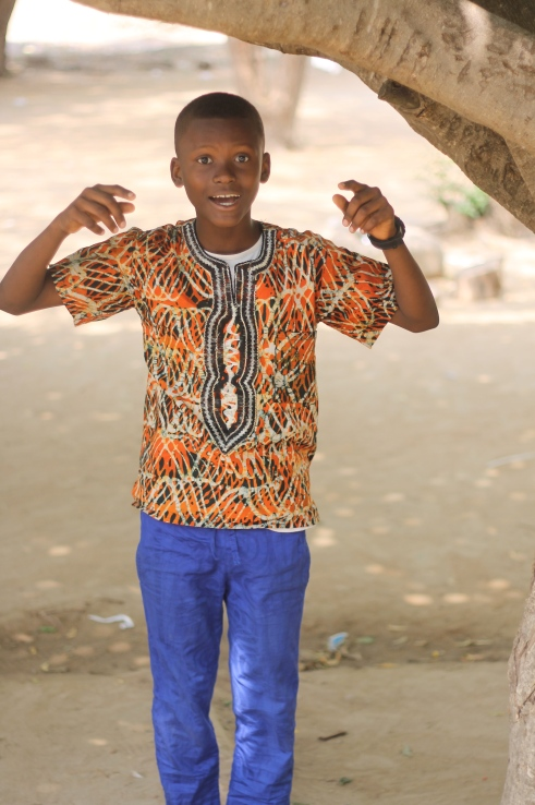 Jerry Tetteh, age 11, Class Six I love this kid. Speaks: English, Spanish, Twi and Pidgin. Favorite Song: Ur Waist, Iyanya From: Equatorial Guinea Favorite Pastime: Roller Blading, Jogging, Church