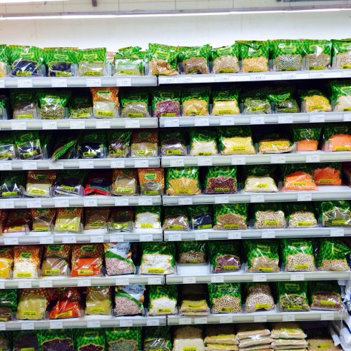 just your average outrageous légume selection